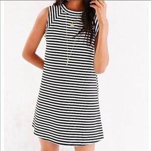 BDG Mini Striped Dress SMALL